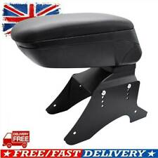 Black Universal Sliding Armrest Central Console New Container Content Box
