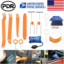 Car Panel Removal Open Pry Tools Kit Dash Door Radio Trim PDR Pump Wedge 13pc US