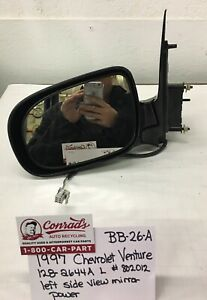 USED  Chevrolet Venture Van 1997' Left side view mirror (drivers Quality)