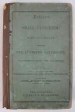 Martin Luther Small Catechism Antique Book 1855 Lindsay Blakiston Phila Green O