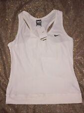 Nike White Size 16 Tank Top
