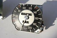BMW 1600-02 Tachometer 200km/h 1502 1602 1802 2002ti tii - SPEEDOMETER till 1971