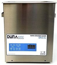 New DuraSonic 11 Liter/3 Gal Digital Ultrasonic Cleaner, with Lid, Basket&Drain