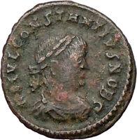 CONSTANTIUS II Constantine the Great son  Ancient Roman Coin LEGIONS i25630