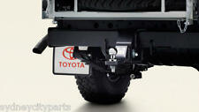 TOYOTA LANDCRUISER 70 SERIES TOWBAR KIT DUAL CAB FROM AUG 2016> NEW GENUINE