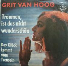 """7""""1963! GRIT VAN HOOG Träumen ist das nicht wunderschön"""