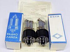 MATCHED PAIR  6N8S /6SN7 /1578 RUSSIAN Tubes FOTON PLANT. NIB SAME  DATE 1965