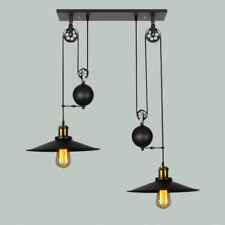 Vintage Chandelier Lighting Industrial Pendant Light Kitchen Bar Ceiling Lights