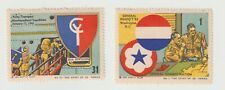 US-  Spirit of 42 series Nos. 1 & 31 poster stamps, full GUM & some small rust s