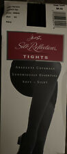 Hanes Silk Reflections Opaque Tights Control Top Navy EF Absolute Coverage