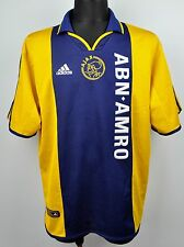 AMSTERDAM AJAX Away Shirt Men's XL Adult 2000 2001 Adidas Trikot Maglia Jersey