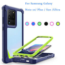 For Samsung Note 10 Plus S20 Ultra Shockproof  360 degree drop-proof Case Cover