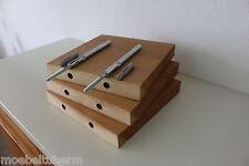 3x Wandboard Eiche Massiv Holz Board Regal Steckboard Regalbrett NEU auf Maß