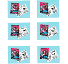 MONSTER HIGH PARTY SUPPLIES FAVOURS 6 MINI COLOURING BOOKS (20 PAGES)