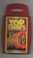 LOTR The Two Towers - Top Trumps Card Game - Complete & Unplayed  in Case