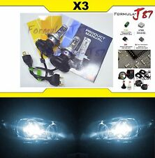 LED Kit X3 50W 9003 HB2 H4 6000K White Headlight Two Bulbs Philips Hi/Lo Lamp OE