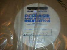"Refrasil Silica Woven Tape High Heat Temperature Insulation 1"" X 298 Ft 1800F"
