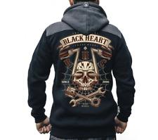 Blackheart Hoodie Chopper Skull