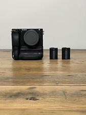 Sony Alpha a6300 24.2 MP Mirrorless Camera + Dual Battery Grip
