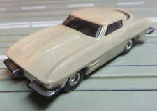 For H0 Slotcar Racing Model Railway 1963er Corvette C2 with T-Jet Motor