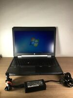 "HP EliteBook Laptop 15"" - 256 GB SSD - 12 GB RAM - Intel Core i7 - 8570w - #Y87"