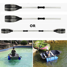 4ft Kayak Boat Paddles Aluminium Oars Boat Dinghy Canoe Raft Water Sports CQ1583