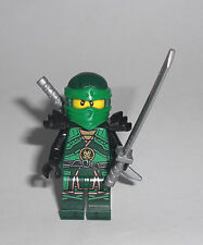 LEGO Ninjago - Lloyd (70626) - Minifig Figur grüner Ninja Zeit Vermillion 70626