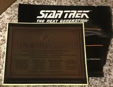 Loot Exclusive Star Trek Enterprise-D Dedication Plaque Decal Replica, 1 pc