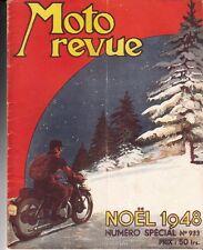 MAGAZINE MOTO REVUE  NUMERO SPECIAL N° 933 NOEL 1948