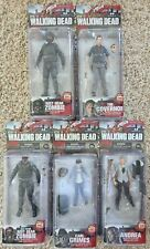 Lot Of 5 McFarlane Toys Action Figure The Walking Dead AMC Series 4 New In Box!