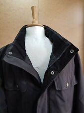 Mens jacket easy collection Matalan winter coat large black zip popper work wear