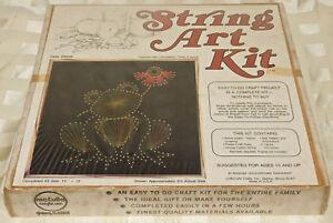 Groß Vintage Saiten Kunst Satz Frosch Versiegelt Neu 30.5cm x 600ms Wand Selten