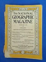 National Geographic Magazine Nat Geo Feb 1929 Buenos Aires by Horse Chile Crete