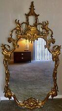 Carvers Guild Chippendale Double Phoenix Pagoda Mirror Baroque Rococo 48�