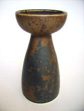 Keramik Kerzenhalter Rolf Weber Kassel Steinzeug Kristallglasur Studiokeramik