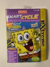 NEW Fisher Price Smart Cycle Sponge Bob Squarepants Extreme Game New Sealed