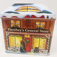 HERSHEY'S Village Series #3 Tin Canister General Store 2002 Christmas