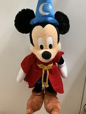 Mickey Mouse Socerer Plush 24 Inches Tall Walt Disney World