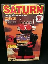 "Saturn The 13"" Giant Walking Robot with Flashing Eyes"