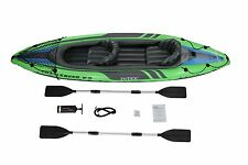 New 2 Person Kayak Wave Line Set Comfortable Fit Cockpit w/ Inflatable Seat New