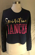 Zumba Wear Spiritual Dancer Top Exercise Fitness Apparel Size L Nwt