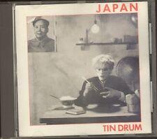 JAPAN Tin Drum CD 8 track DAVID SYLVIAN 1981-1985 France NO BARCODE