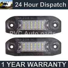 2X FOR VOLVO S80 S40 S60 V50 V60 C70 XC60 XC70 V70 XC90 18 LED NUMBER PLATE LAMP