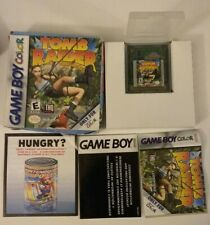 Tomb Raider starring Lara Croft Game Boy Color Gbc Nintendo Complete in Box Cib