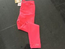 NWT Juicy Couture New & Gen. Girls Age 10 Pink Cotton Trousers With Juicy Logo