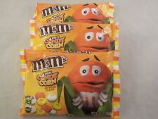 3 Bags of M&M's White Candy Corn Chocolate Candies 8 Ounces New 24 Oz Total