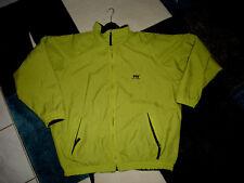 Helly Hansen Jacke Wendejacke Regenjacke 54/56 neon grün mit Fleece dunkelblau