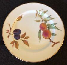 "Royal Worcester Evesham Gold Dinner Plate (Flat) 1961 Made in England 10 1/8"""