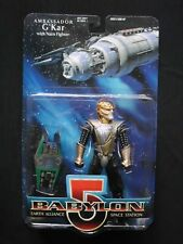 Babylon 5 - Series 1 - Ambassador G'Kar - Action Figure with Narn Fighter
