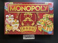 NEW Monolopy Chinese Lunar New Year Property Trading Fortune Board Game ENGLISH